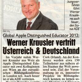 Kronenzeitung newspaper 2012