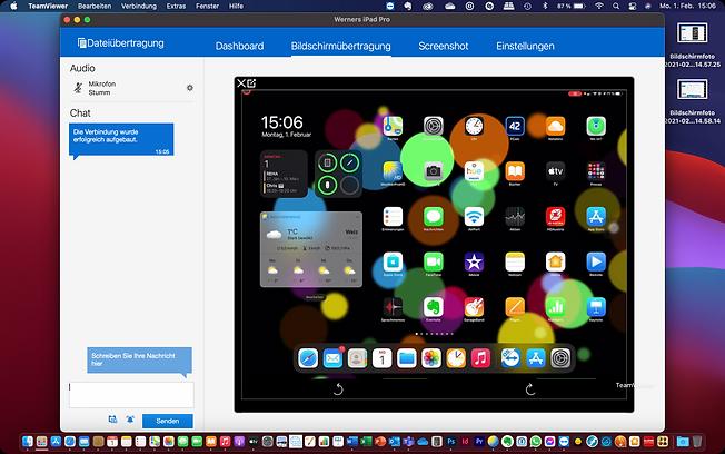iPad Fernwartung