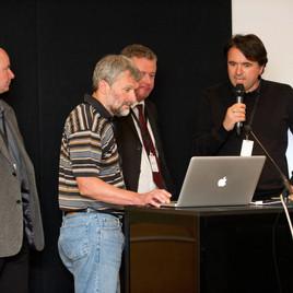 German/Austria Crew in London (Günther Rainer, Erich Jännert, Werner Krausler, Andreas Rehner)