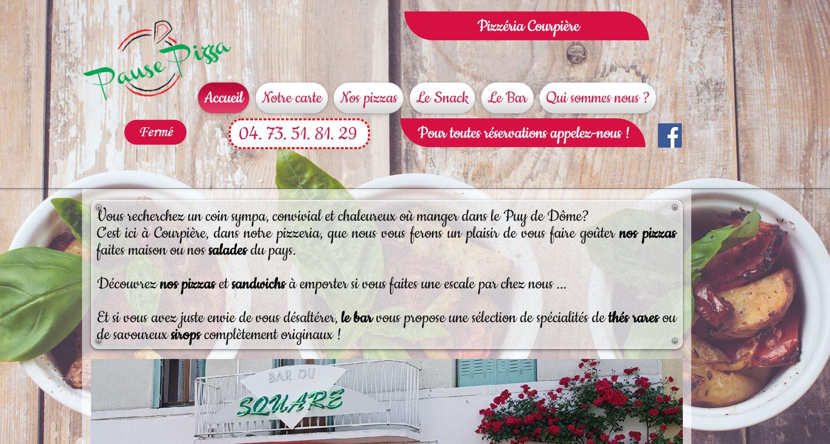 www.pausepizzacourpiere.com