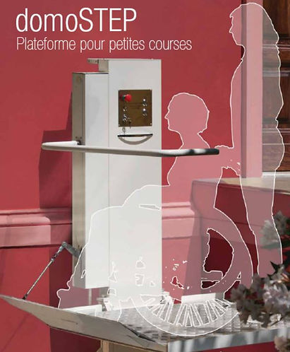 DOMOSTEP pour Stairlift AUVERGNE
