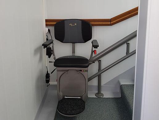 monte-escaliers installé par José Maia