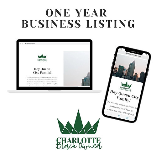 One Year Business Listing