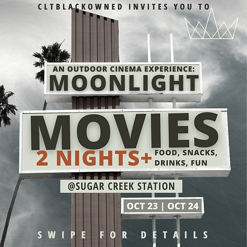 Outdoor Movie Experience: Moonlight Movies