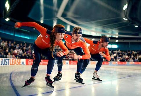 Visagie opdracht - schaatsteam TeamNL
