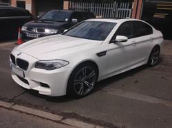 BMW M5 Valeting
