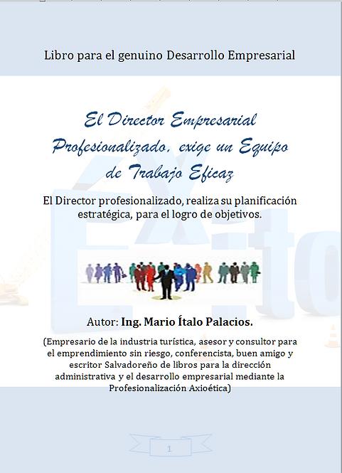 EL DIRECTOR EMPRESARIAL PROFESIONALIZADO, EXIGE UN EQUIPO DE TRABAJO EFICAZ