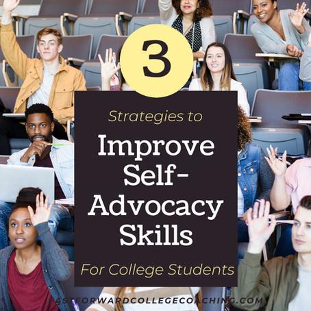 3 Strategies to Improve Self-Advocacy Skills