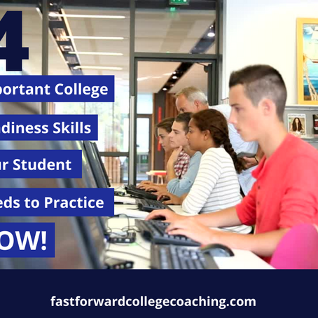 4 Important College Readiness Skills Your Student Needs to Practice Now