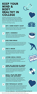 Infographic - Keep Your Mind and Body He