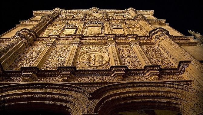 Фасад Университета Саламанки