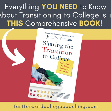 Everything You Need to Know About the Transition to College is in THIS Comprehensive Book!