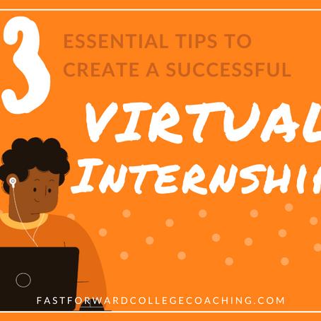 3 Tips to Create a Successful Virtual Internship