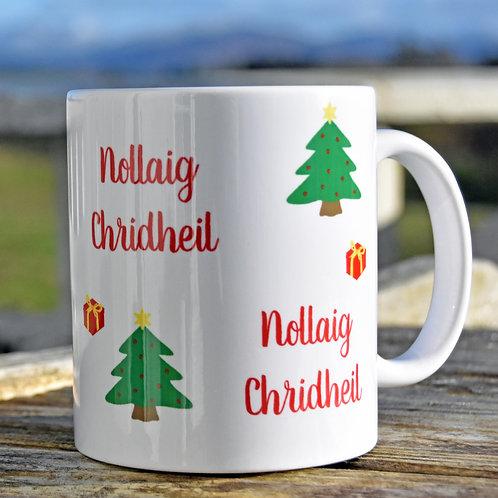 Chunky Scottish Gaelic Christmas Mug