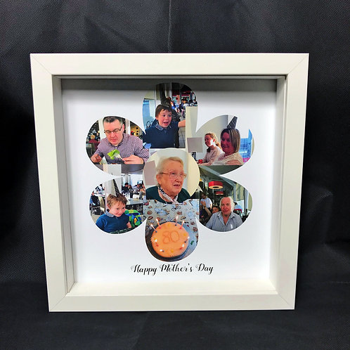 Mother's Day Flower Photo Collage - personalised