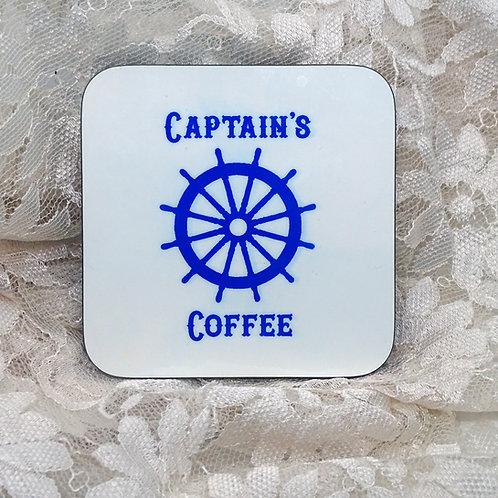 Captain's Coffee Coaster