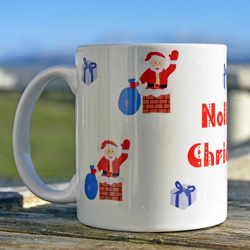 Scottish Gaelic Santa Bone China Mug