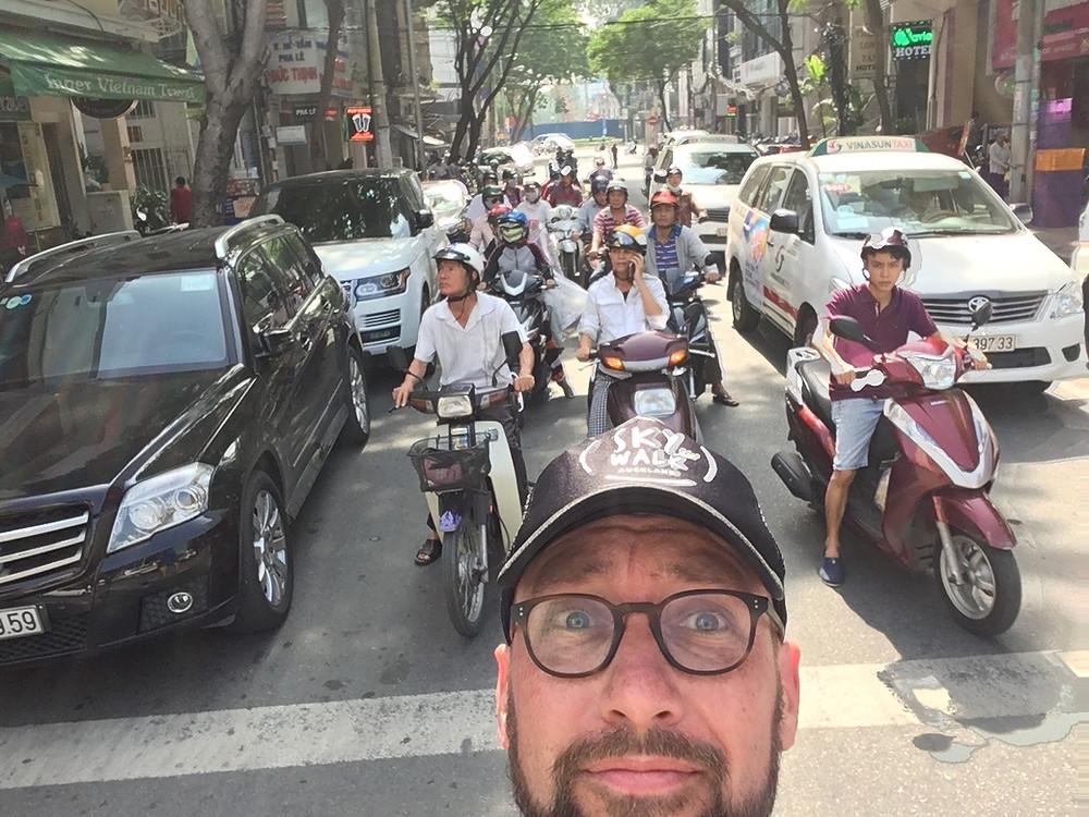 running in Vietnam