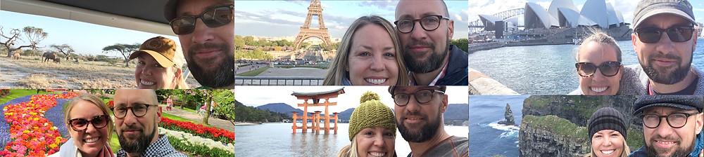 selfies around the world