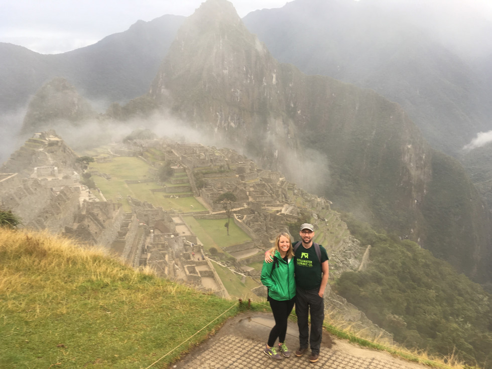 Riding the Train from Machu Picchu, with a Pixie-Devil