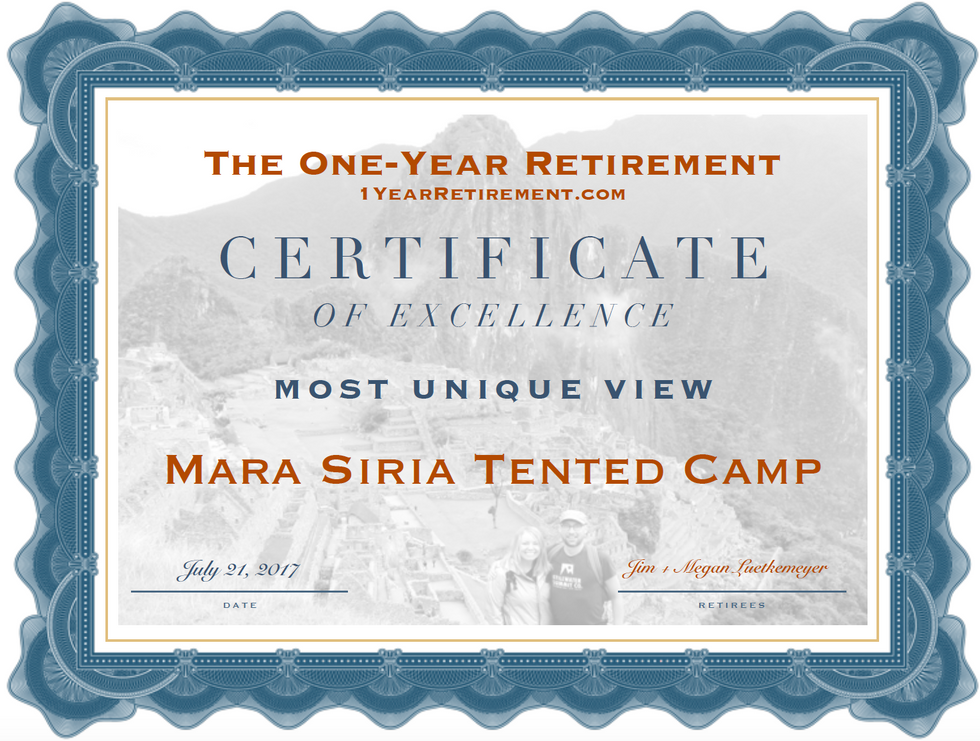 The One-Year Retirement Best and Worst Awards
