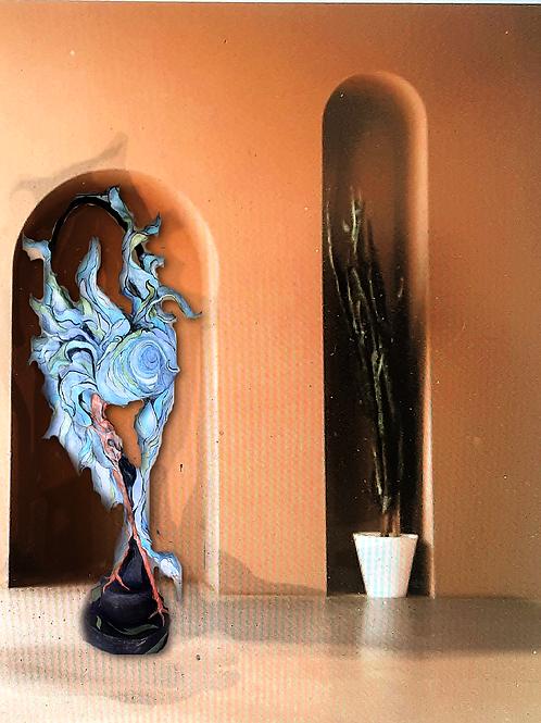Fernando - Blue  Heron series #2