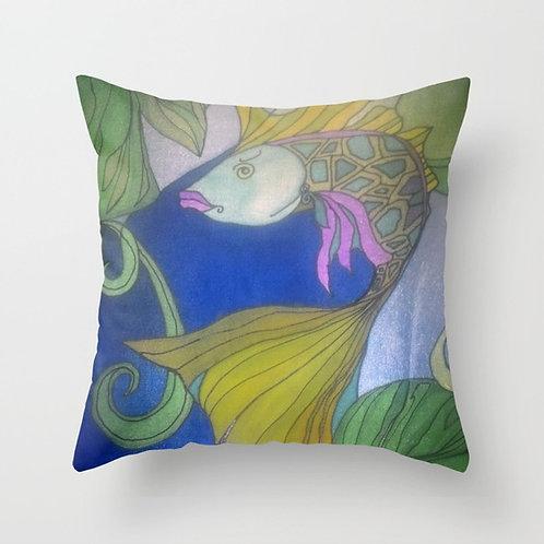 Lady Fish Cushion