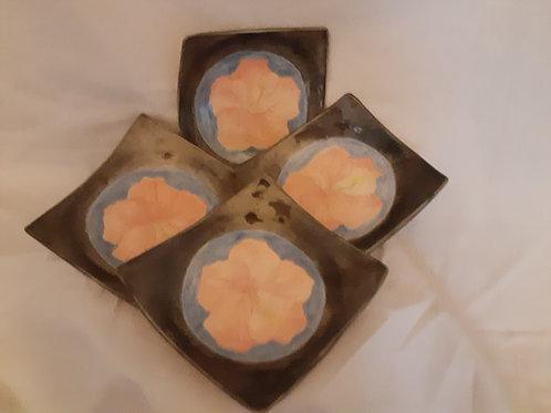 Hibiscus dish set