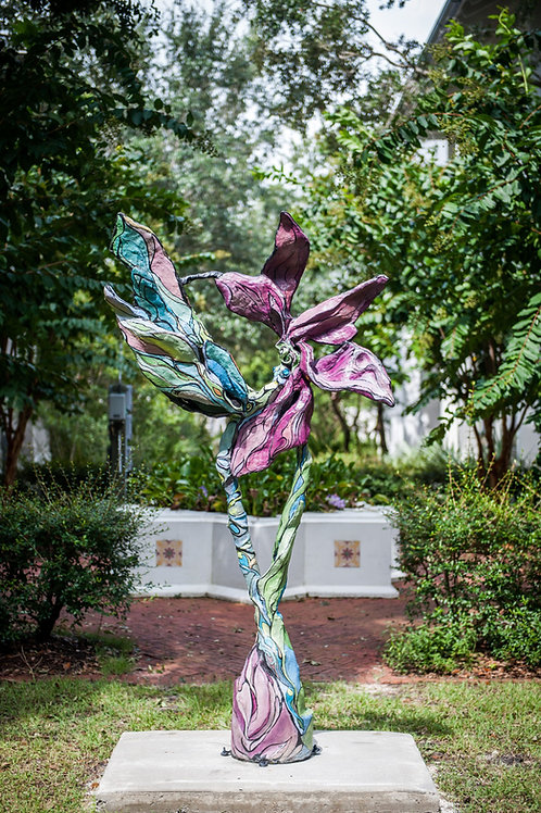 Dragonfly , Flora CURRENTLY OUT FOR EXHIBITION in Rosemary Beach Florida