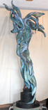 Jemma- Large Blue Heron #ARTFIELDS