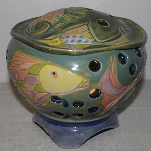 Fish globe lantern