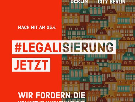 Acción 25 de Abril 2020 #LegalisierungJetzt