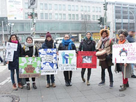 Mujeres en lucha por una sociedad libre de violencia y opresión