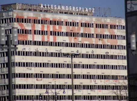 Berlin Alexanderplatz en los tiempos de Corona