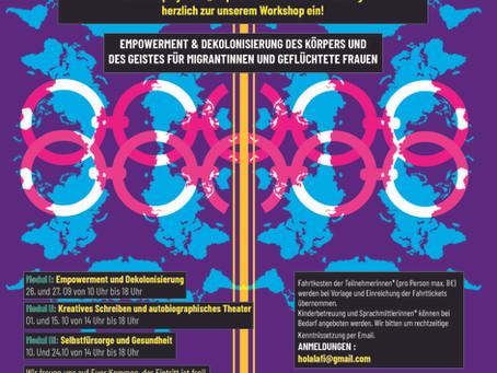 Talleres de decolonialidad y empoderamiento para migrantes y refugidas