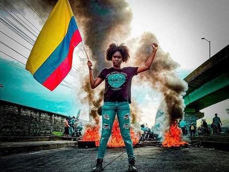 En las calles de Colombia... La lucha por la soberanía de un pueblo ansioso de paz