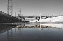 LA_River_Relfection_BNW - USA