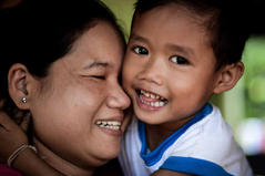 Mother and Son - Laos