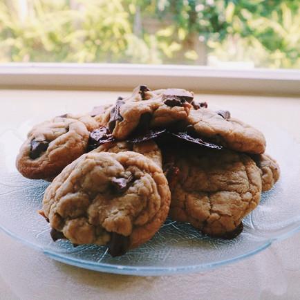 Caramello Chunk Cookies