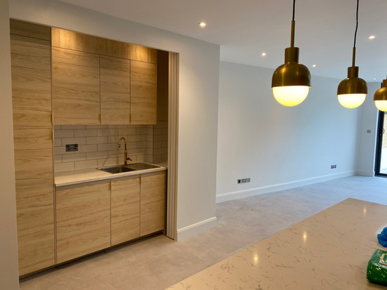 concealable kitchen