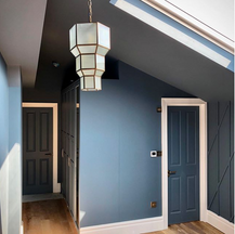 Town house renovation - loft spare bedroom