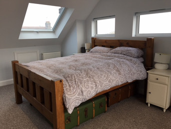 Hip to Gable loft with window to side elevation
