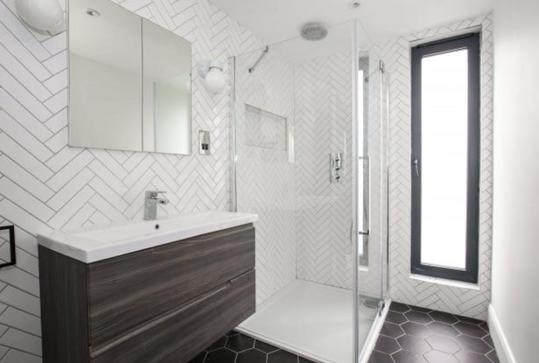 Loft shower room