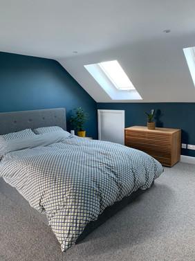 Dormer front room