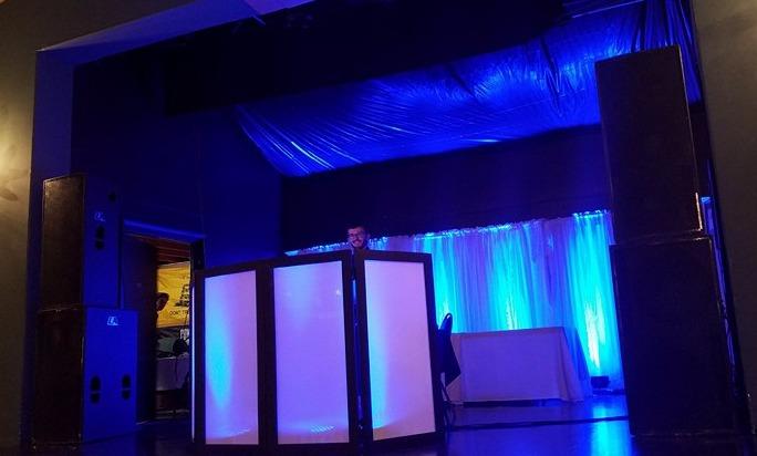 Large DJ Setup