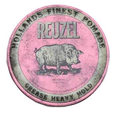 PINK - REUZEL Pomade - Grease Heavy Hold