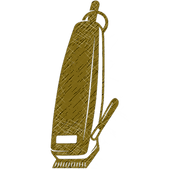 Gold Barber Clippers Clip Art