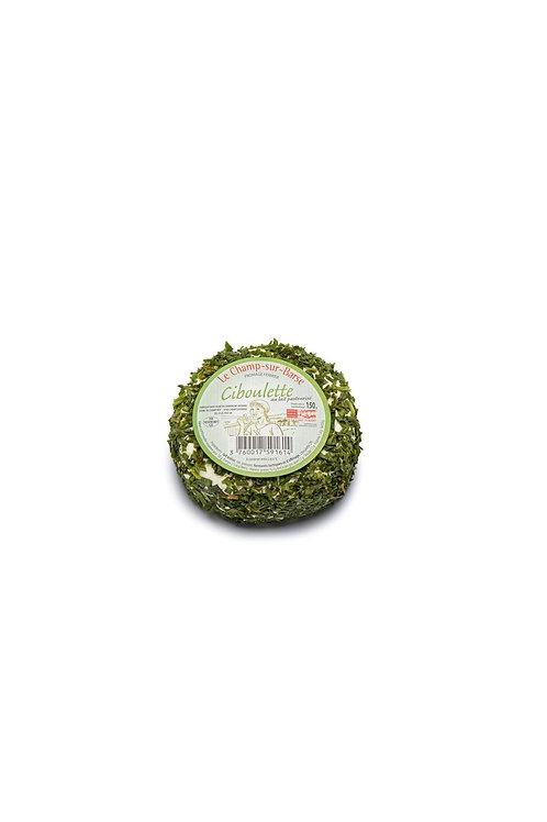 Fromage frais ciboulette 150g