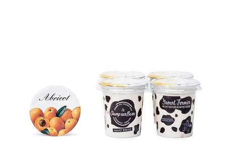 Yaourt brassé abricot 4x125g