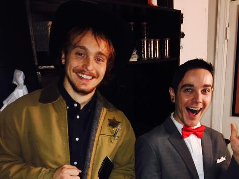 Pee Wee & Walker Texas Ranger
